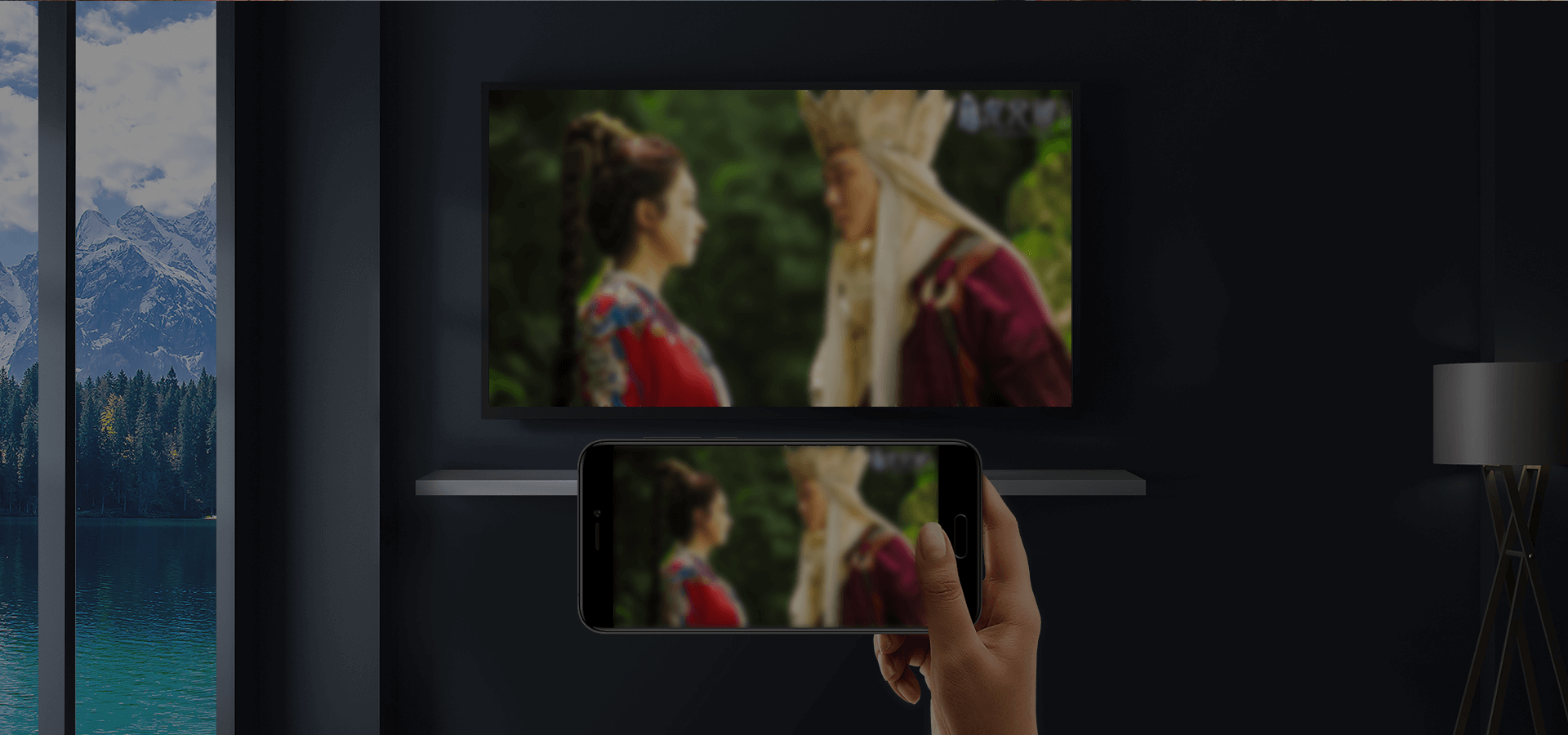You don't need a TV VIP. Mobile phone VIPs can cast their phone content to their TVs. With one click, you can cast and watch your content on a big screen.